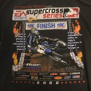 Other - Toyota Vintage Tee Super Cross Series Men's Large